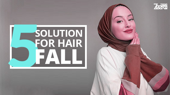 What is the best solution to stop hair fall?